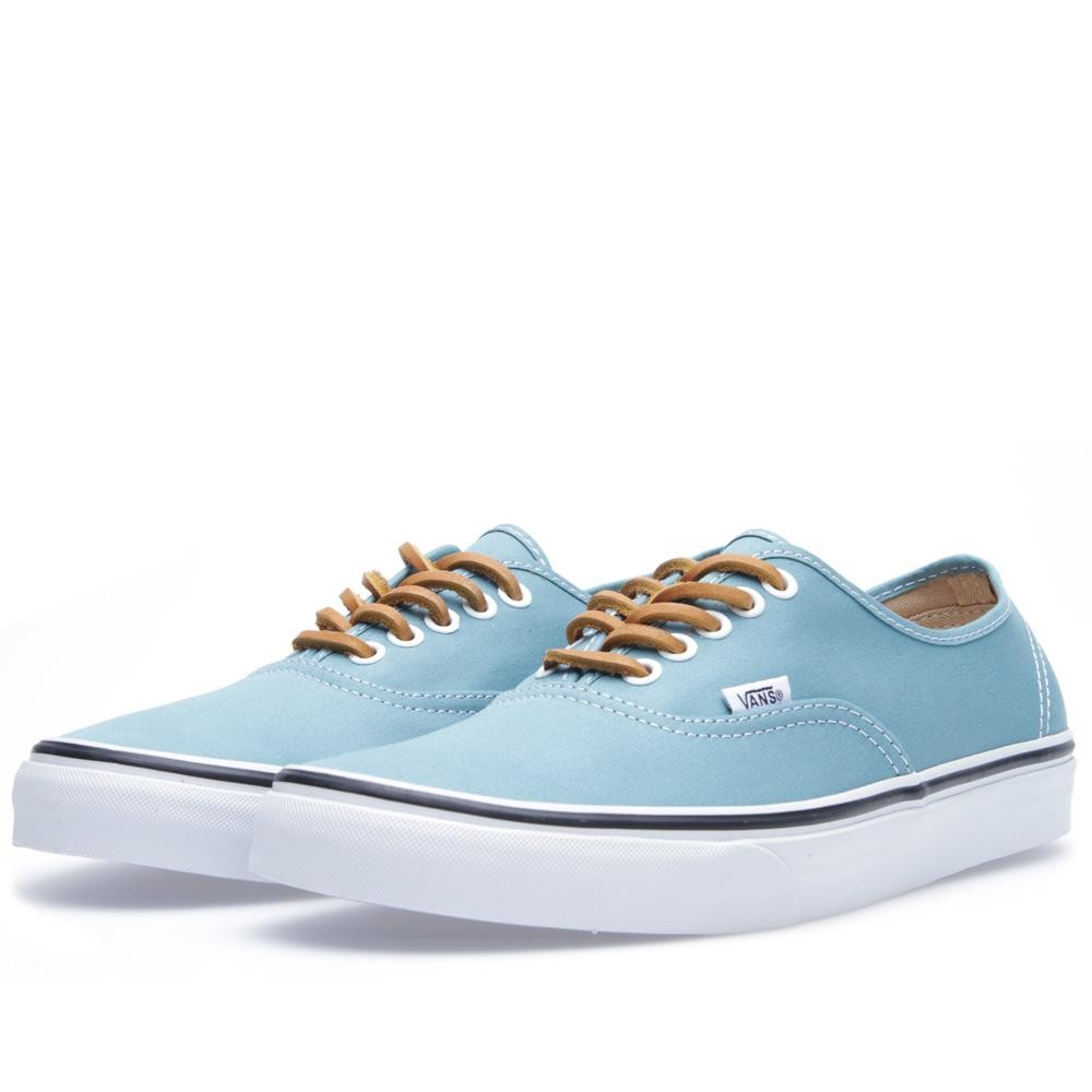 Vans Authentic Brushed Twill (Porcelain & True White)