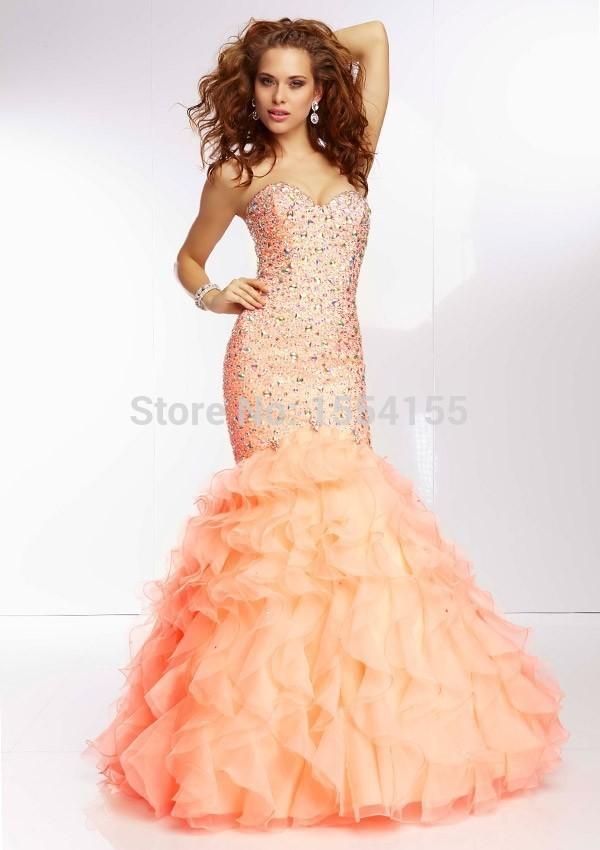 Prom dresses cheap mermaid tail