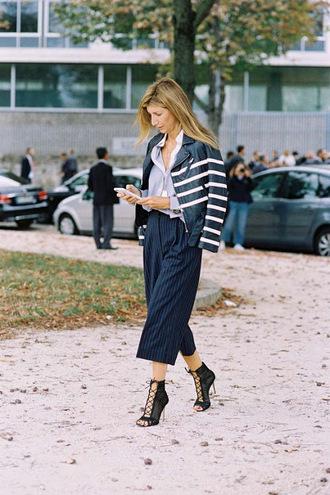 vanessa jackman blogger jacket pants shoes