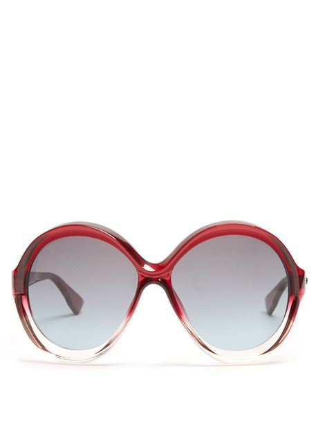 sunglasses burgundy