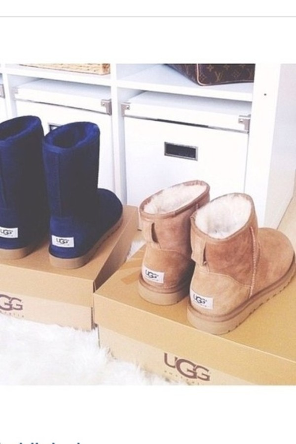 shoes blue ugg ugg boots