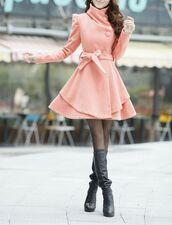 coat,pink coat,black tights,black leather boots,blogger