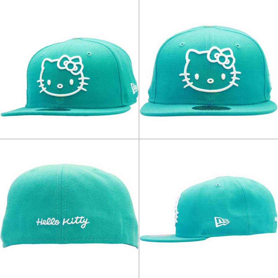 Rakuten New Era X Hello Kitty Cap White Logo Kitty Tyr