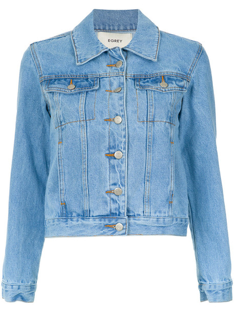 EGREY jacket women cotton blue