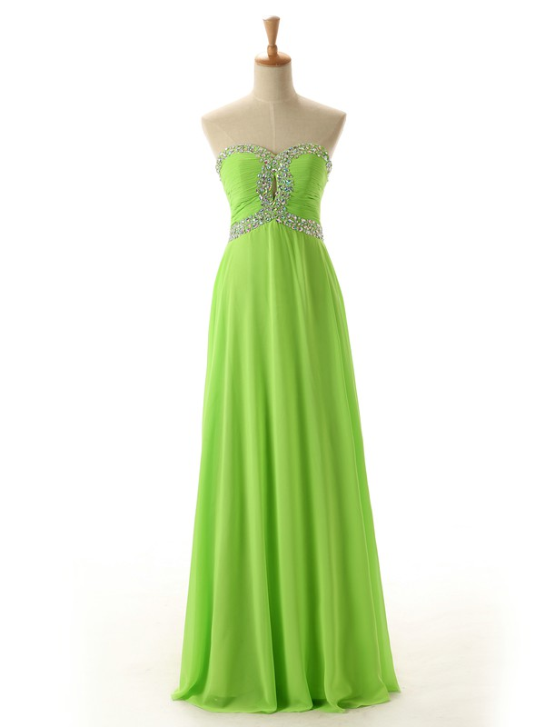 prom dress chiffon prom dress beaded dress long prom dress homecoming dress diyouth dress
