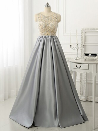 dress prom prom dress grey grey dress maxi puffy puffy dress bridesmaid special occasion dress dressofgirl girly cute cute dress sexy long long dress maxi dress sparkle sparkly dress fashion vibe trendy cute grey shiny dress shiny shiney satin atlas satin dress sexy dress
