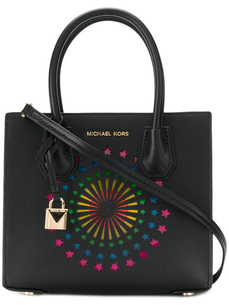 MICHAEL Michael Kors women leather black bag