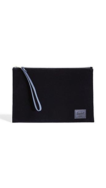 Herschel supply Co. pouch velvet bag
