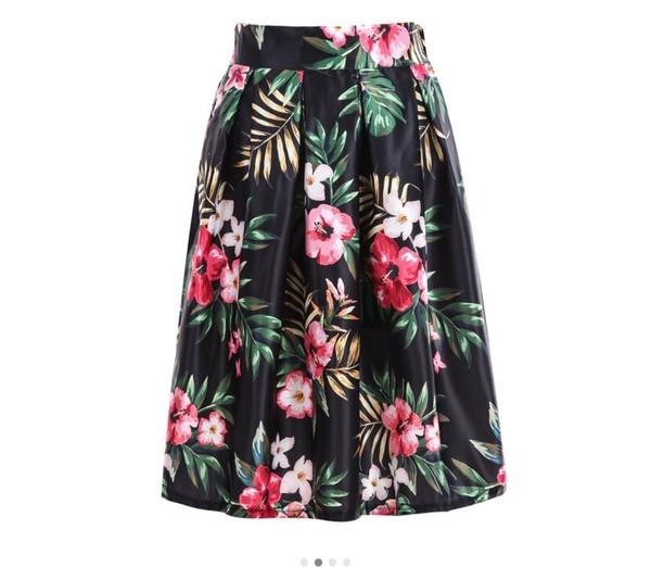 skirt floral skirt floral midi skirt