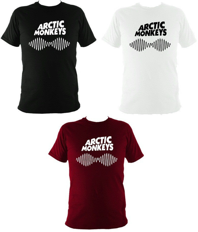 Arctic Monkeys T Shirt Top Tee AM Soundwave Album Rock Music Dope Swag New Tour