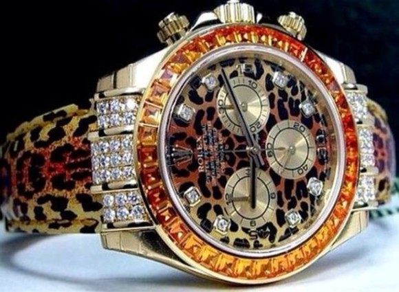 cheetah jewels watch diamonds
