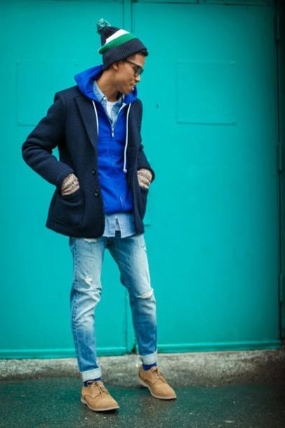 closet freaks blogger menswear mens hoodie sweater shirt hat