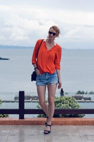bag shoes shorts shirt sunglasses zanita