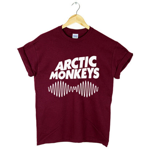 Arctic monkeys tshirt  unisex adult sos 5 seconds of by iintee