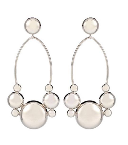 Isabel Marant Boo hoop earrings in silver