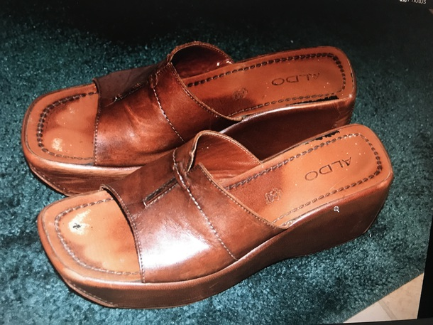 shoes aldo brown