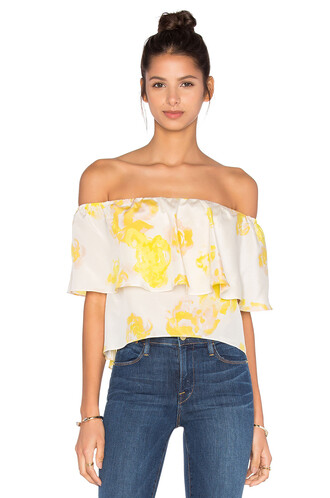 top off the shoulder yellow