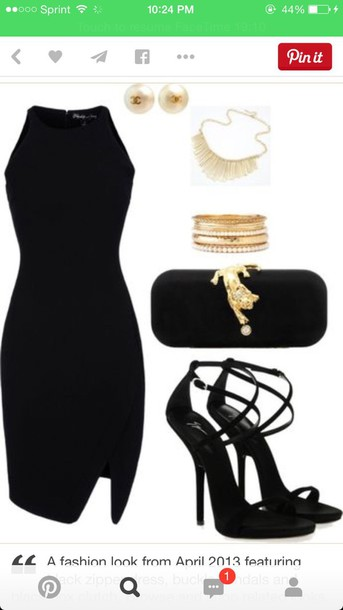 dress black dress elegant sexy sexy dress black