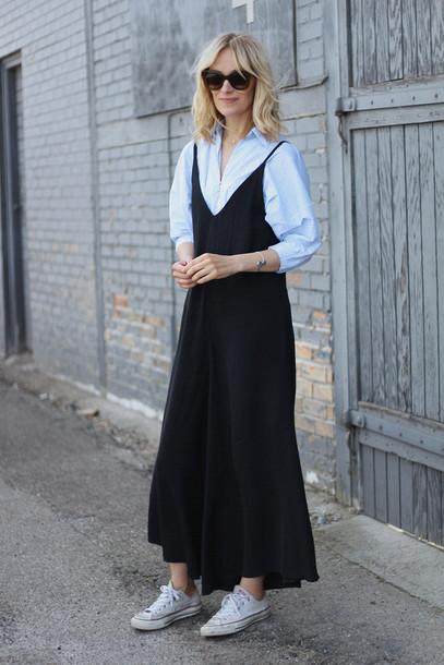blameitonfashion blogger jewels jumpsuit shoes sunglasses shirt palazzo jumpsuit