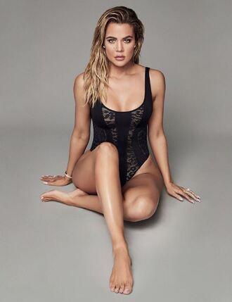 top tank top bodysuit khloe kardashian kardashians instagram