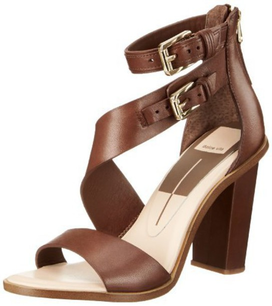 shoes dolce vita brown sandels symmetrical