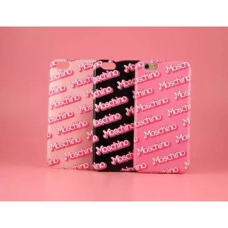 phone cover moschino barbie pink