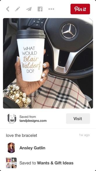 home accessory gossip girl blair waldorf coffee