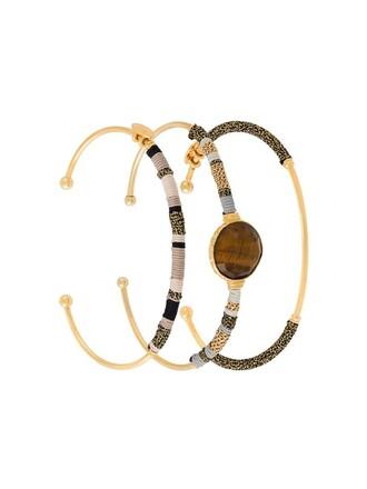 metallic jewels