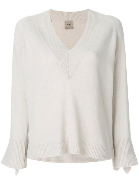 NUDE jumper women wool nude sweater