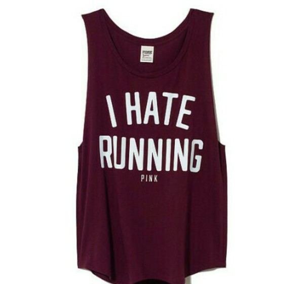 t-shirt running hate running hate