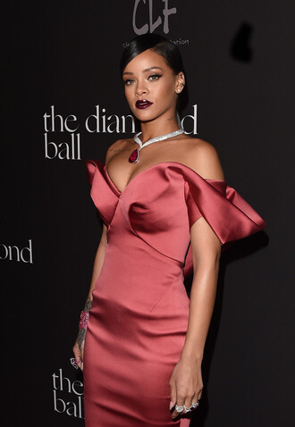 dress rihanna fishtail long dress rihanna dress rihanna style