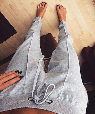 leggings jogging jogging pants grey jogging gray jogger pants comfy pants cozy lazy