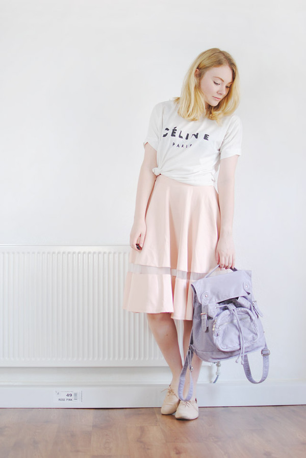 this fashion is mine skirt t-shirt