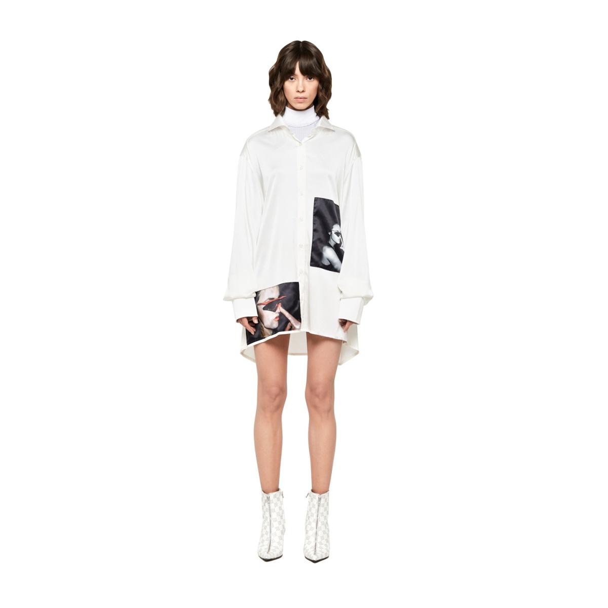 6YRS Oversize Shirt White