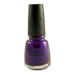 Earthly Delights - Savina Nail Polish, Glitter Purple S96013, 1 bottle