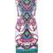 Roberto cavalli - geometric print bodycon shift dress - women - spandex/elastane/viscose - 40, spandex/elastane/viscose