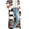 Moon river belted stripe knit duster   nordstrom