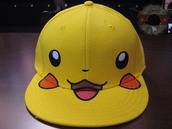 cap,pikachu,pokemon,hat,yellow cap