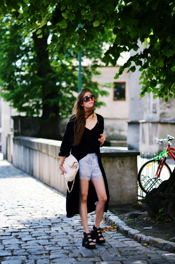 jestem kasia cardigan top shoes bag sunglasses
