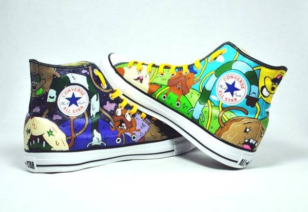 DeviantArt: More Artists Like Adventure Time Shoes 2 IV by Misfit
