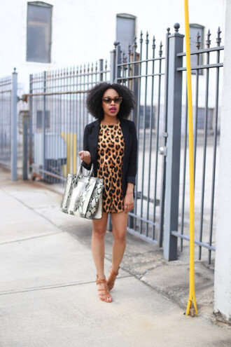 mattieologie blogger bag animal print snake print leopard print python bag