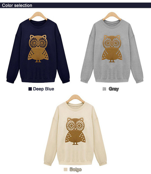 Owl Crew Sweatshirt | Outfit Made