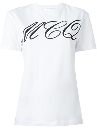 t-shirt shirt tattoo print white top