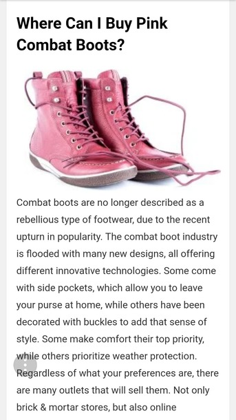 shoes pink combat boots pink combat boots military boots pink military boots lace up boots