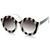 Trendy Womens Fashion Oversize Round Circle Sunglasses 9131                             zeroUV