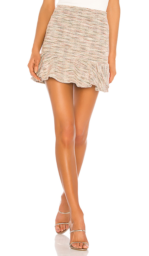 Lovers   Friends Catania Skirt in Pink Multi from Revolve.com