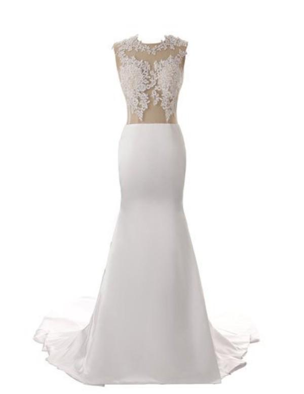 Dress wedding dress mermaid wedding dress lace wedding for Oxiclean wedding dress