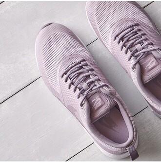 shoes nike free run lila purple nike air max nike air max thea pink pastel beautiful casual sportswear style outfit idea