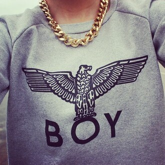 sweater boy shirt