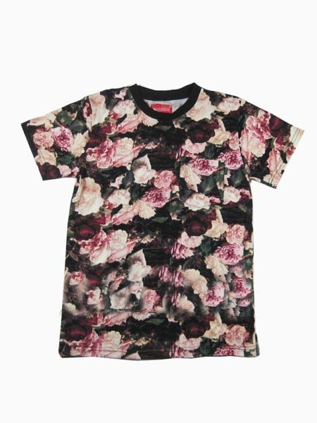 New Style Floral Couple T-Shirt | Choies